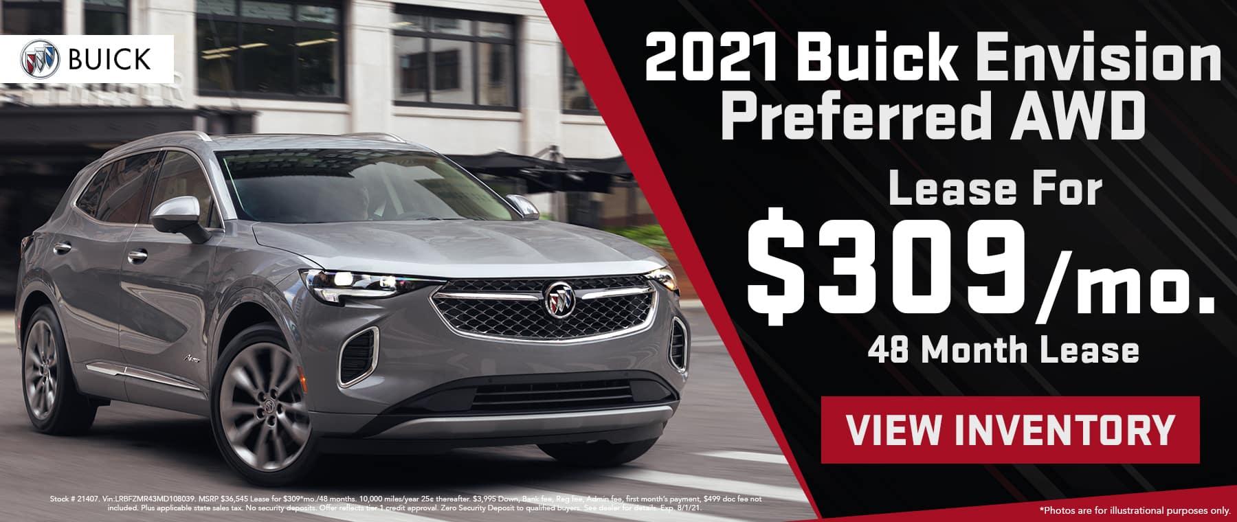 Buick Envision preffered
