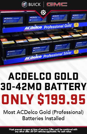 Acdelco 30-42mo Battery Only $199.95
