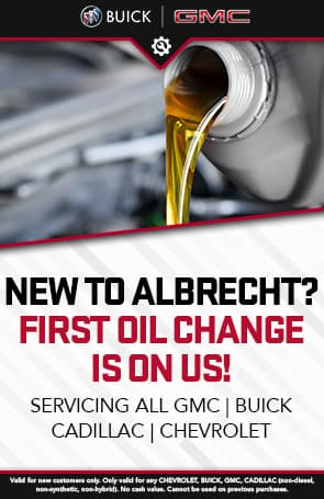New to Albrecht? First Oil Change is on Us!