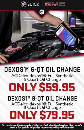 DEXOS1 Oil Change
