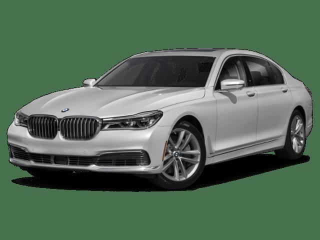 2019 BMW 7 Series Angled
