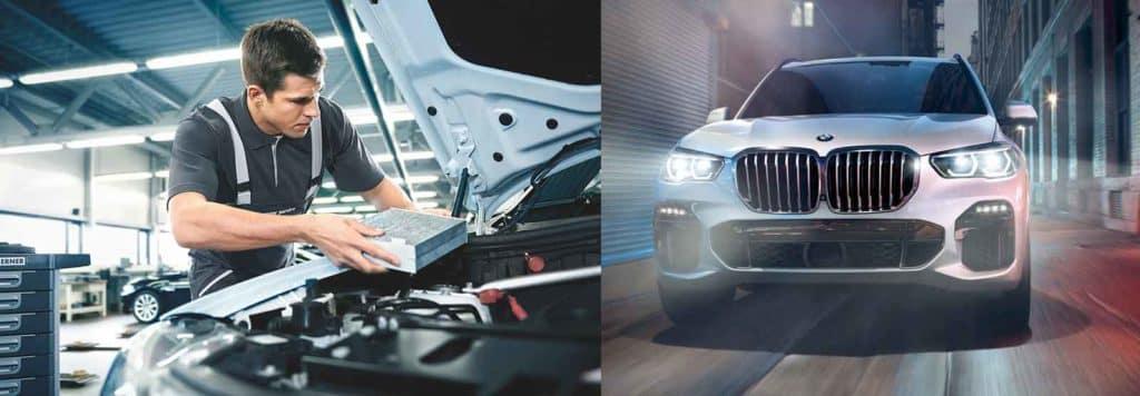 BMW authorized service center