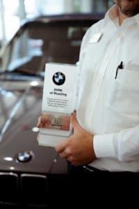10-year BMW award