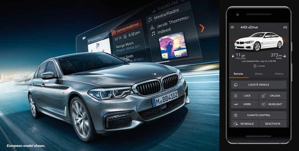 BMW app features