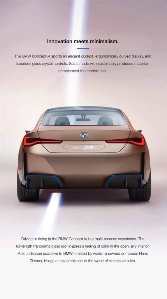 buy cars online BMW i4
