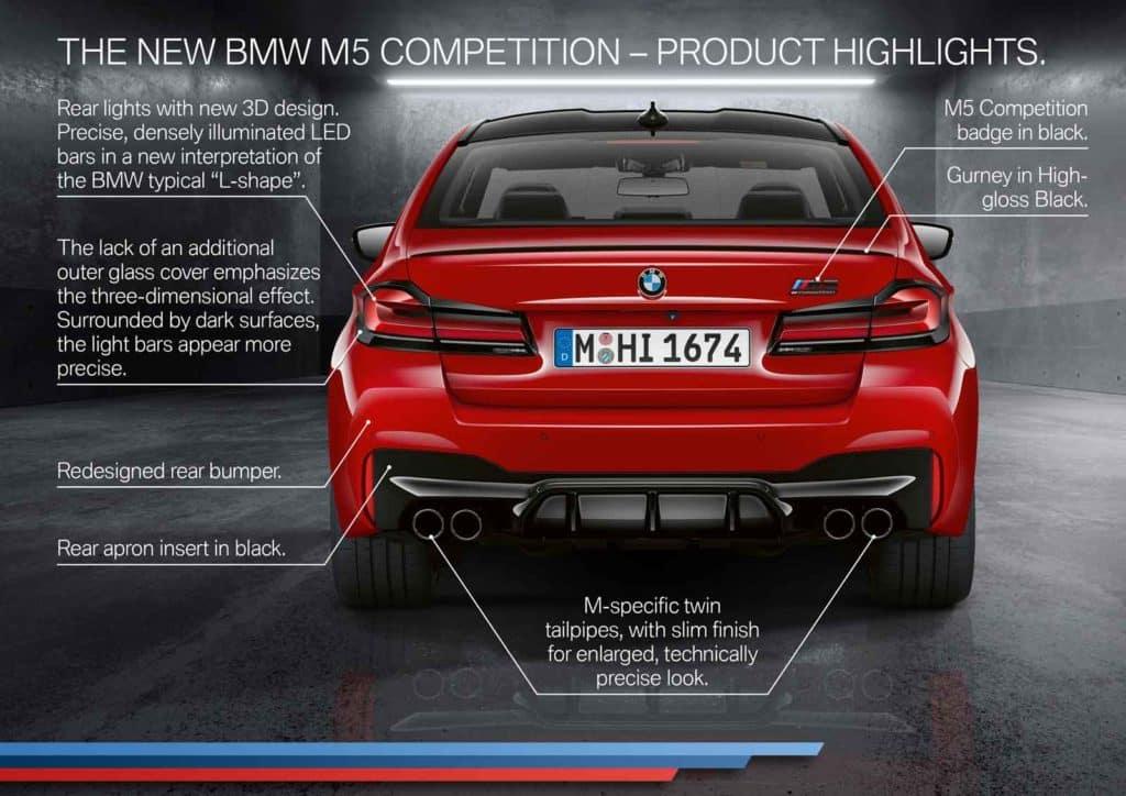 BMW M5 exterior