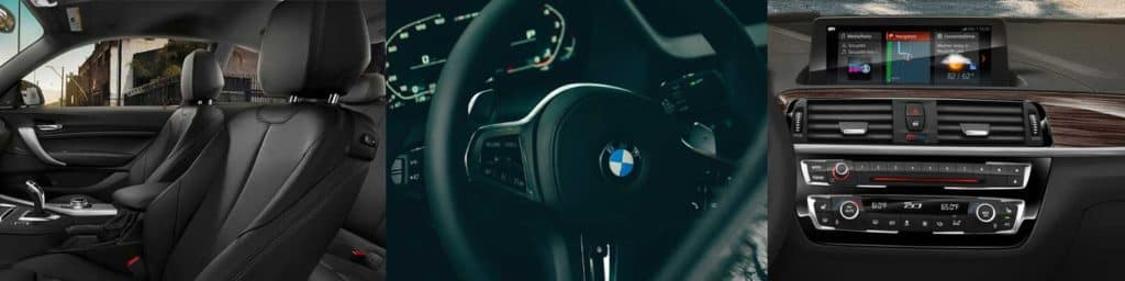 BMW series 2 interior