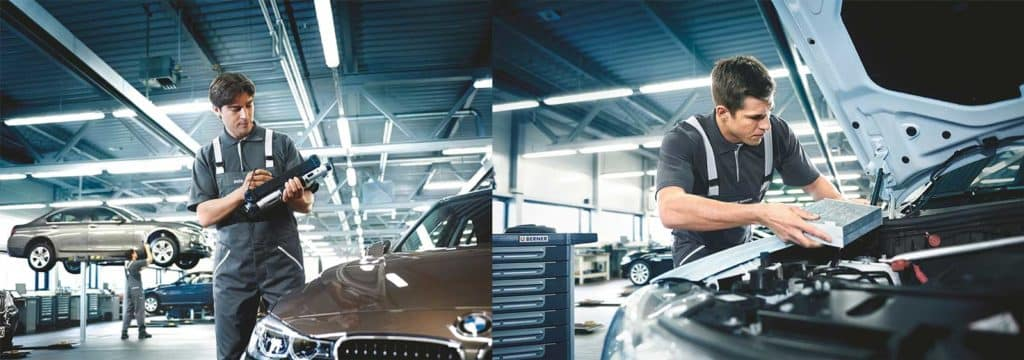 BMW services in Reading