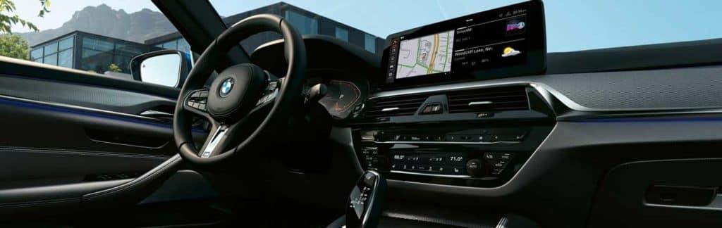 interior BMW 5 series