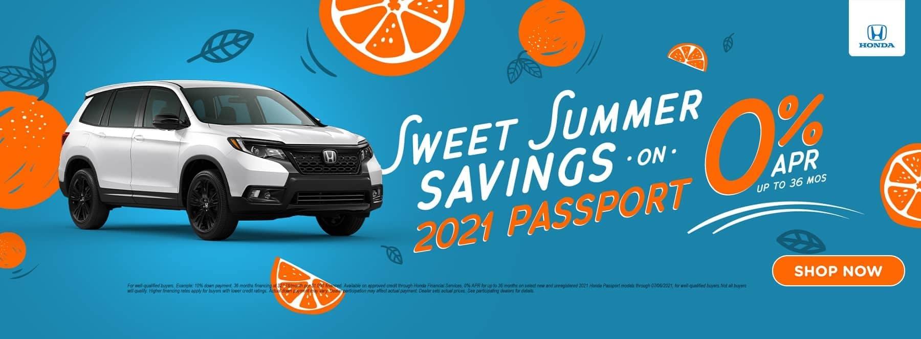 Sweet Summer Savings 2021 Passport
