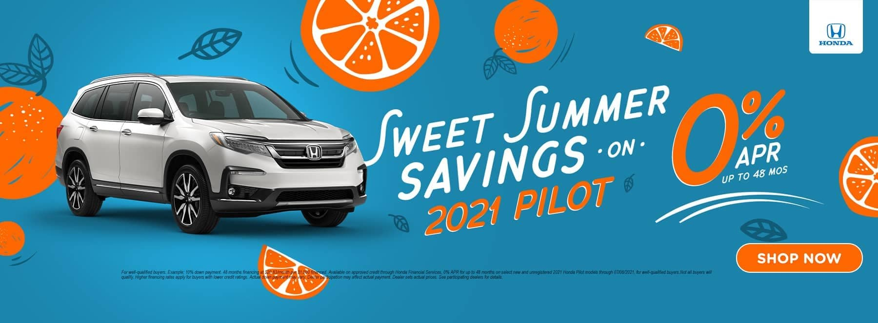 Sweet Summer Savings 2021 Pilot