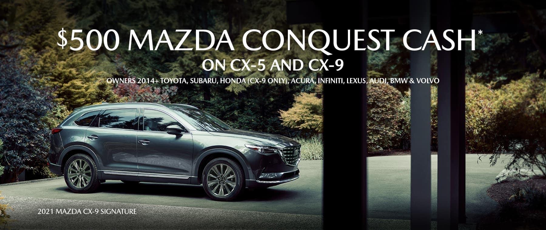 Mazda Conquest Bonss Cash Lrg