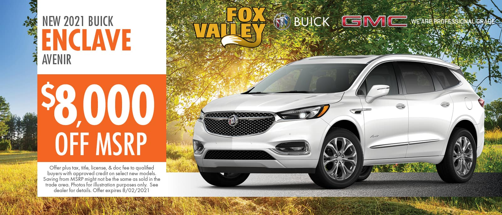 2021 Buick Enclave Offer | Fox Valley Buick GMC