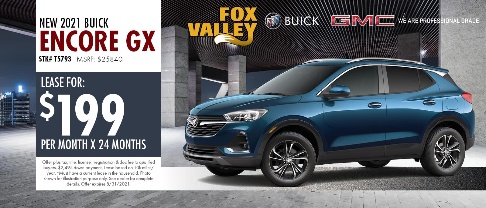 2021 Buick Encore Offer | Fox Valley Buick GMC
