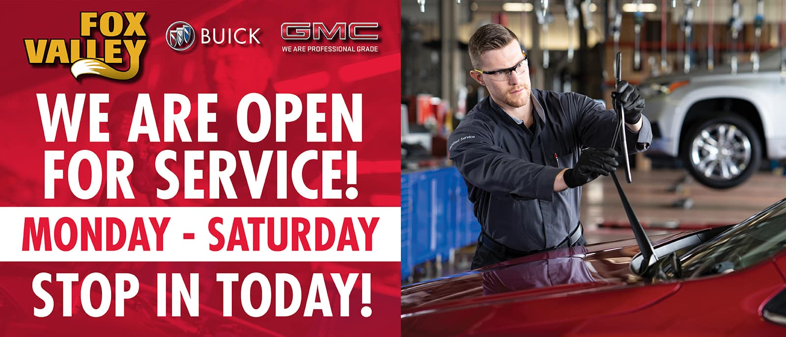 Service Hours | Fox Valley Buick GMC