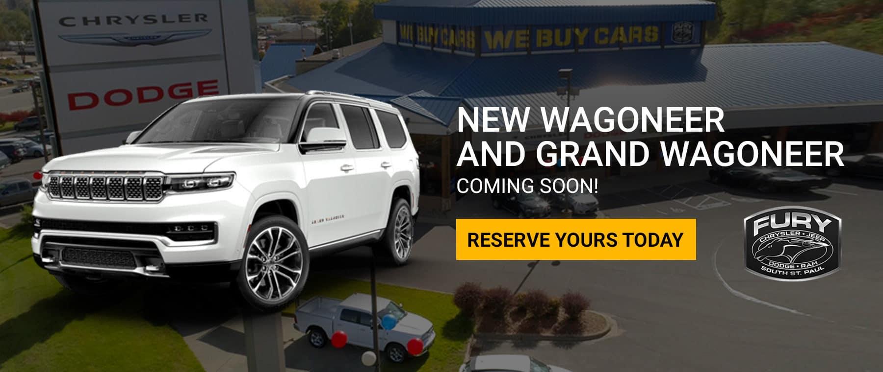 New Wagoneer and Grand Wagoneer, Coming Soon!