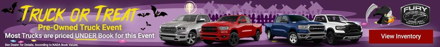 Truck or Treat Pre-Owned Truck Event