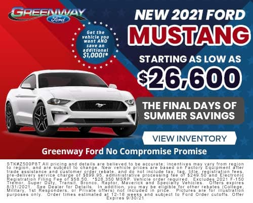 New 2021 Ford Mustang