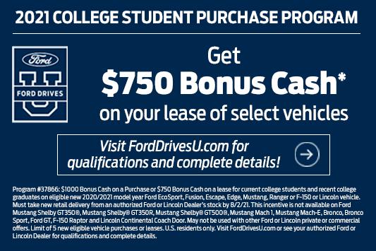 student cash back banner