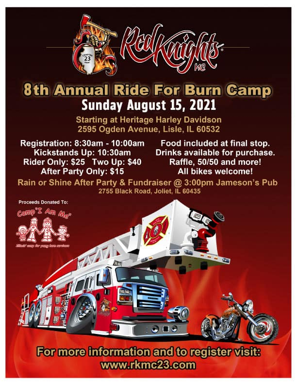 8th Annual Ride for Burn Camp