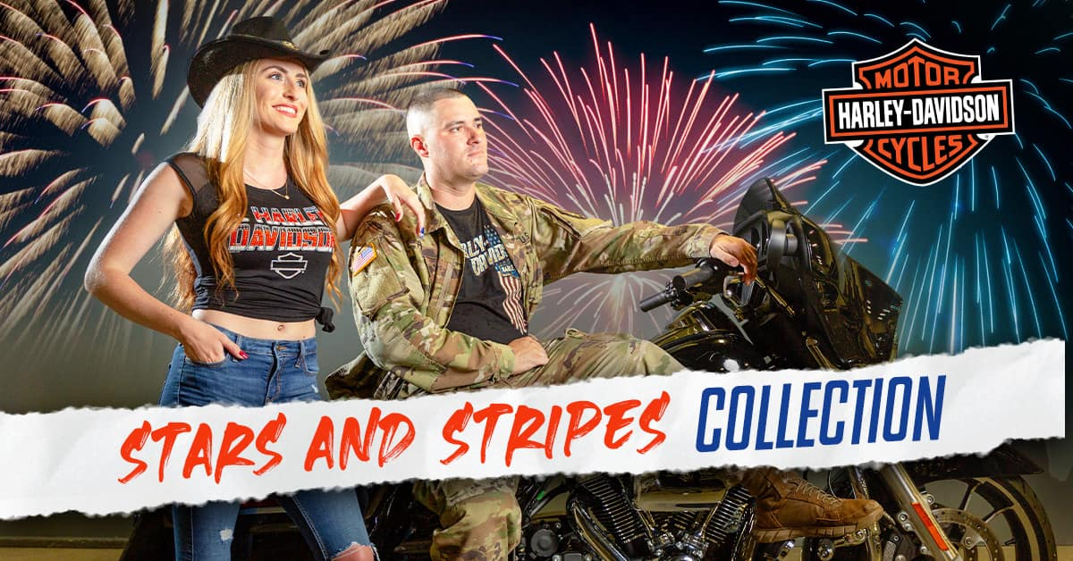 Harley Stars and Stripes Collection