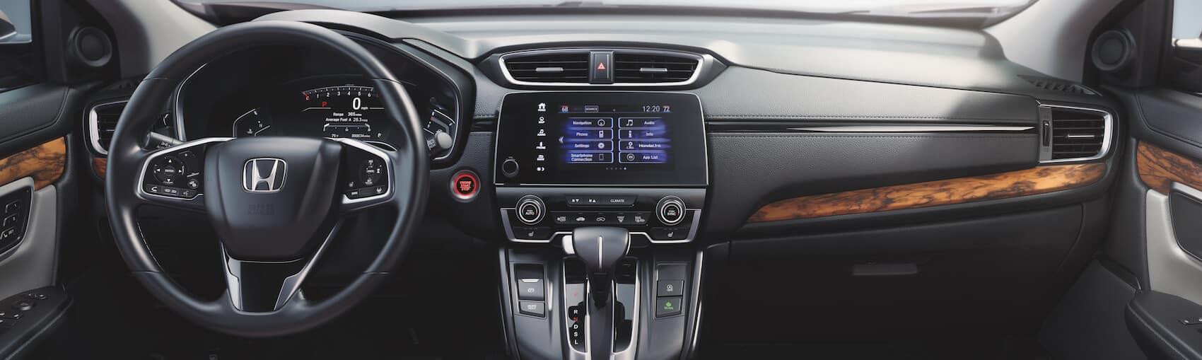 Honda Pilot and CR-V interior amenities
