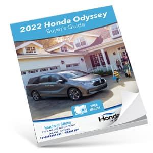 2022 Honda Odyssey Buyers Guide eBook CTA