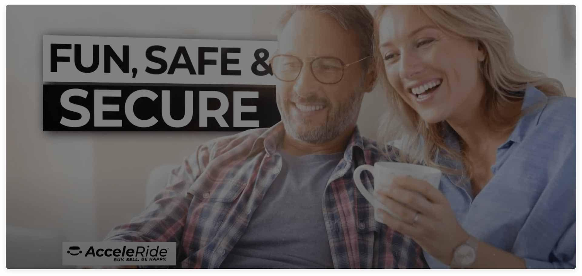 Couple Laughing Acceleride Banner