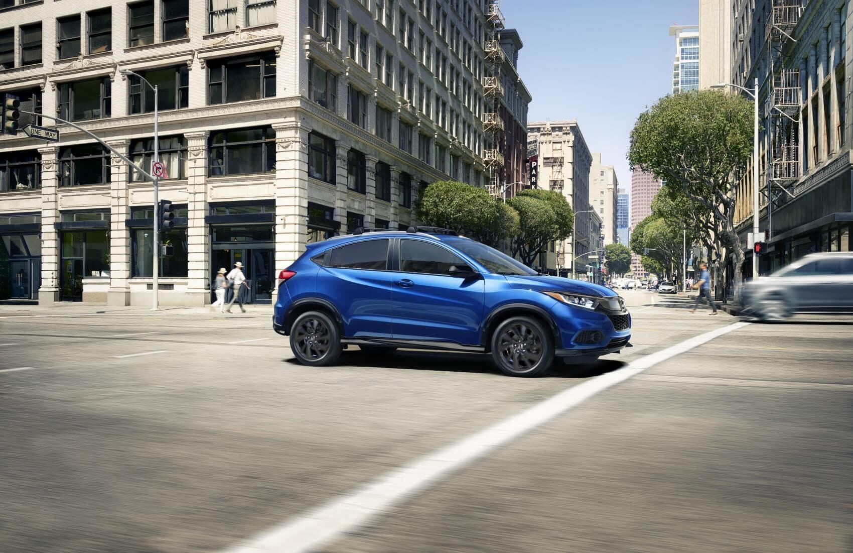 2021 Honda HR-V vs Subaru Crosstrek