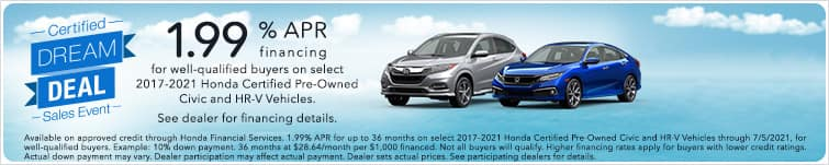 certified dream sales event