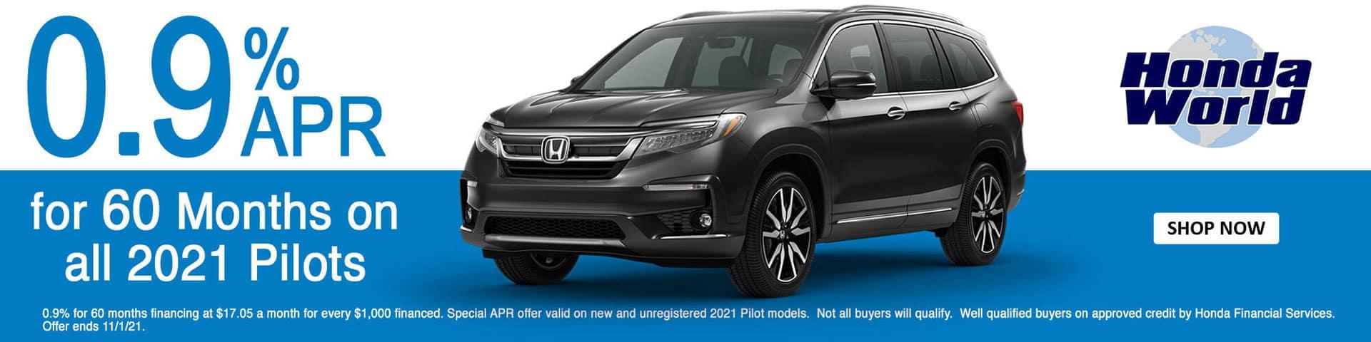 2021 Honda Pilot APR Offer