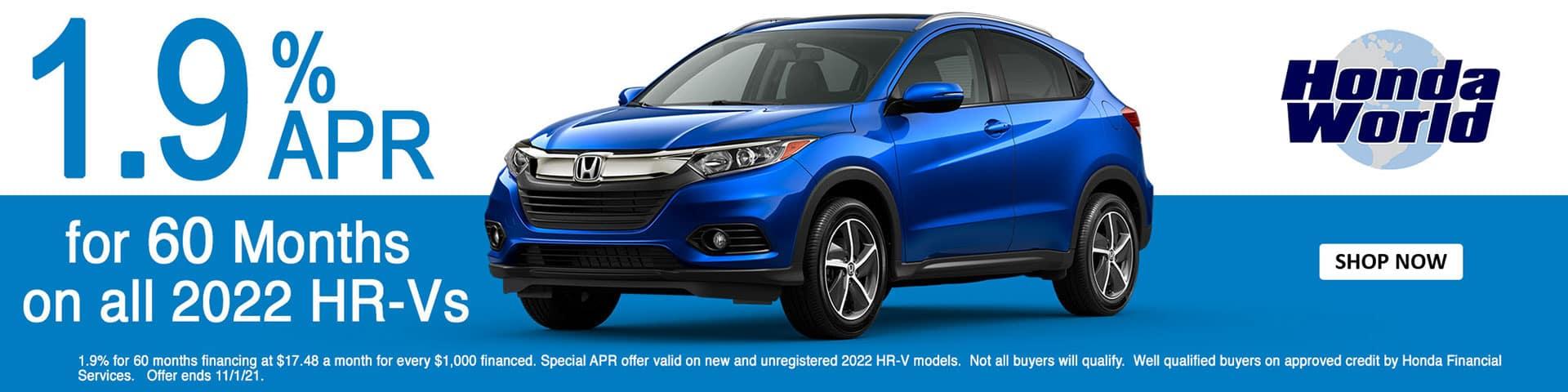 2022 Honda HR-V APR Offer