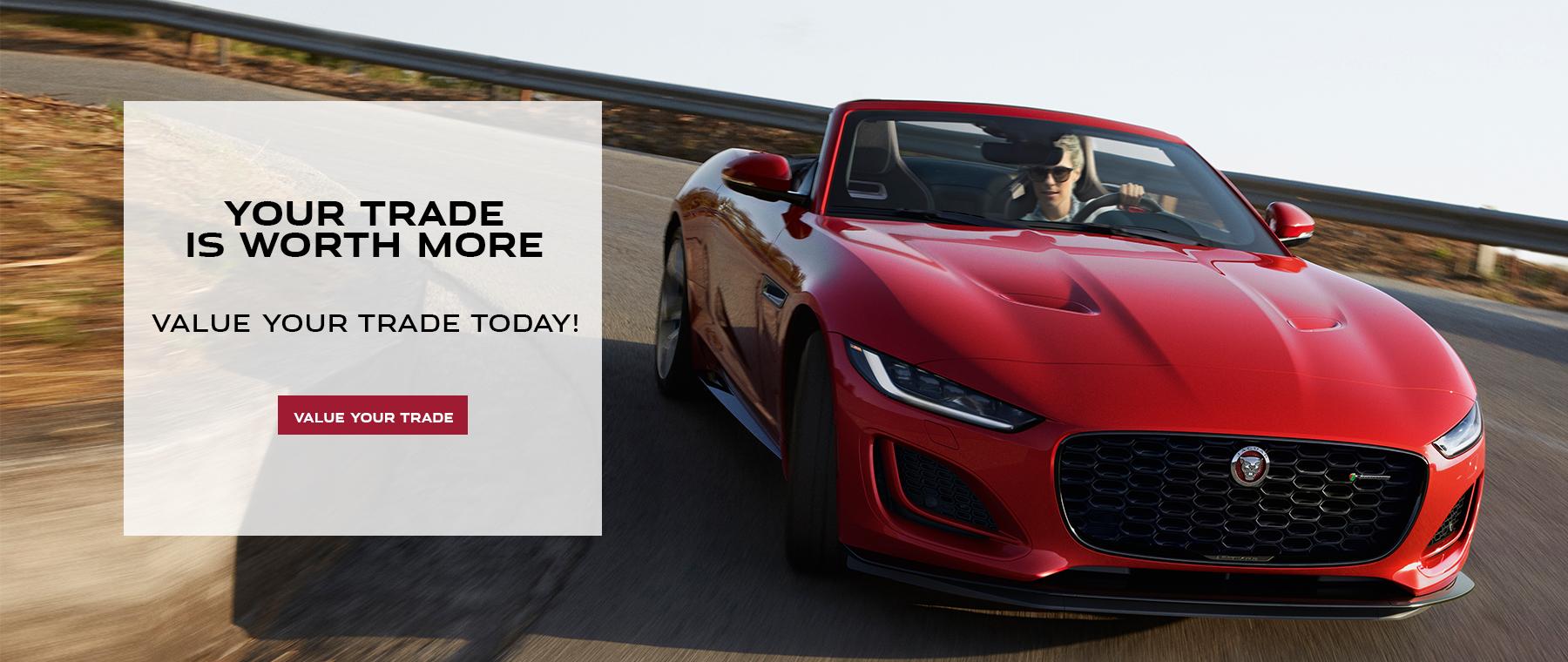 Jaguar Trade In. Value Your Trade,