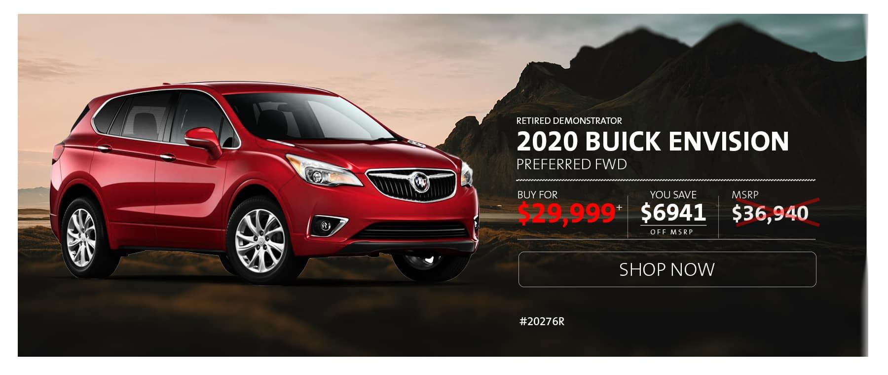 2020 Buick Envision Pref AWD