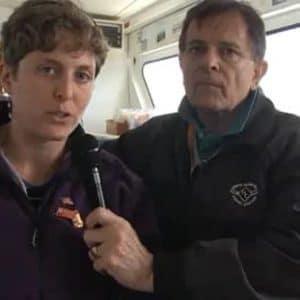 people getting interviewed