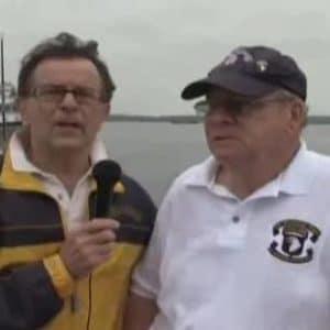 two veterans talking