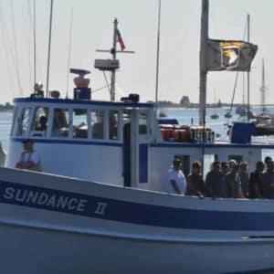 veterans on a ship called Sundance