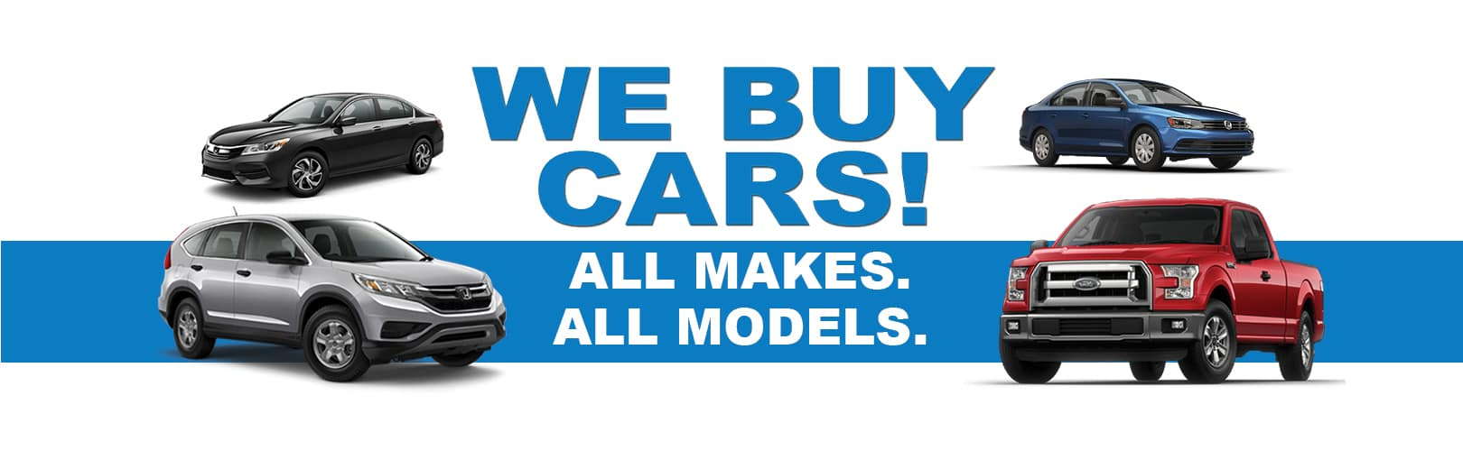 We Buy Cars at Kelly Automotive Group