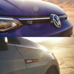 New 2022 VW Golf GTI and Golf R badges shown