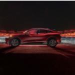 Ford Mach-E SUV in Red