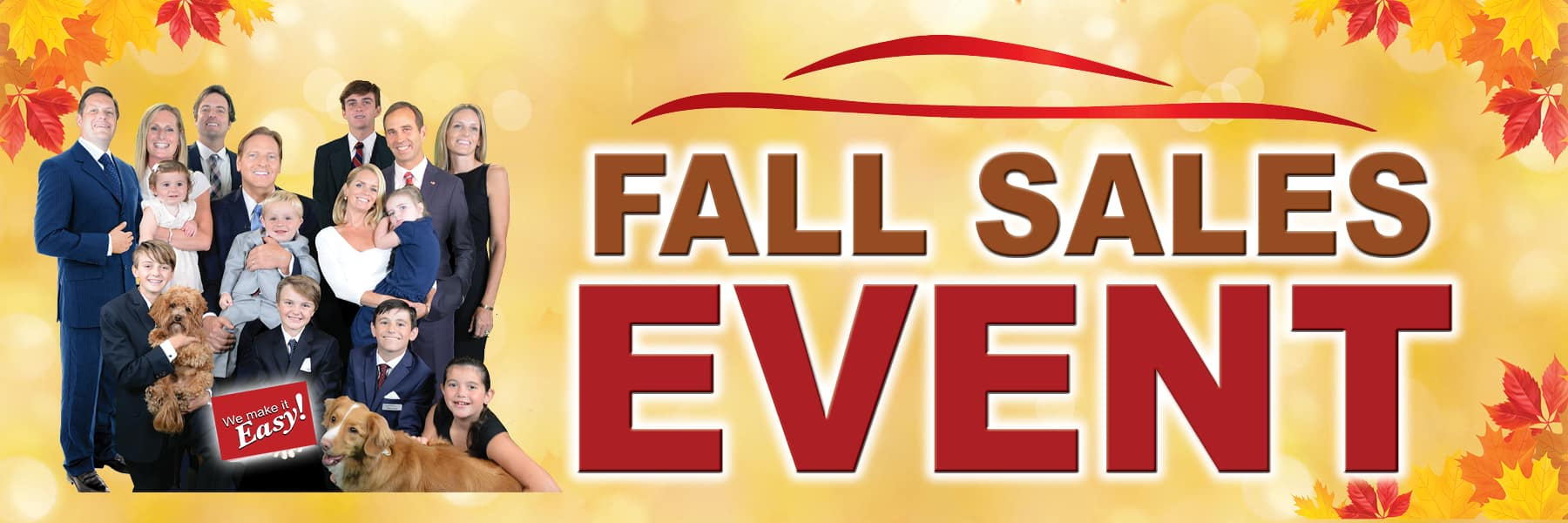 Kelly Automotive Group Fall Sales Event