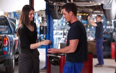 FREE Rental When You Have Your Car Serviced