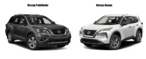 Nissan Rogue vs Pathfinder