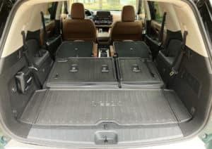 2022 Nissan Pathfinder cargo
