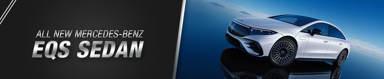 New Mercedes Benz EQS Sedan