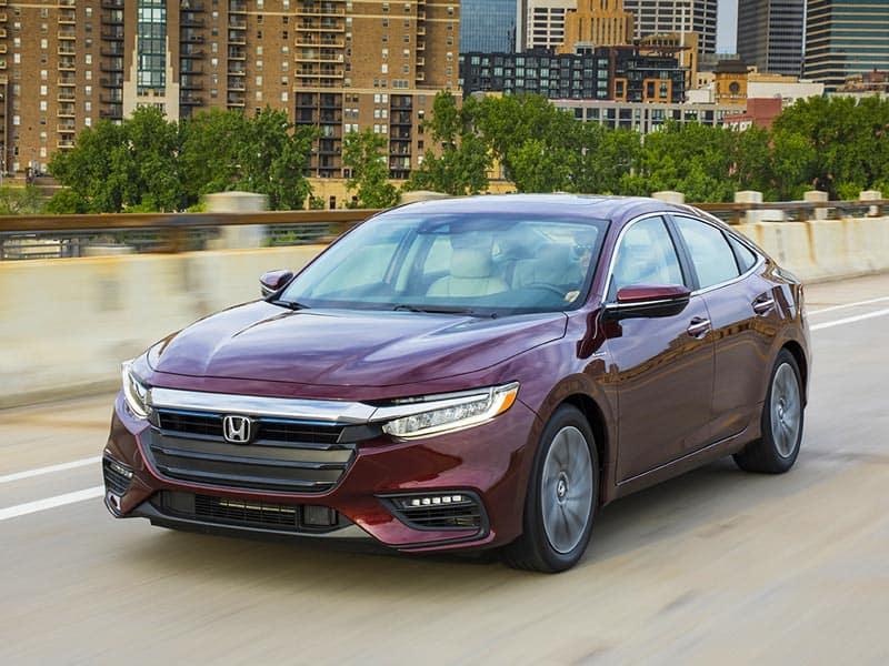 2021 Honda Insight powertrain and economy