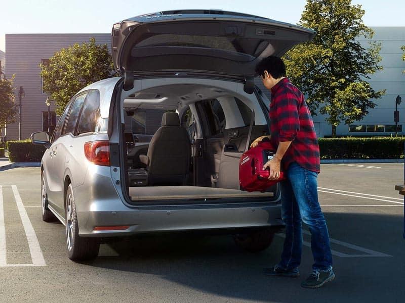 2021 Honda Odyssey trim levels