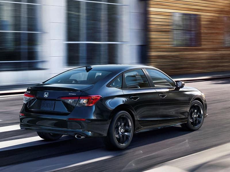 2022 Honda Civic Sedan powertrain and performance