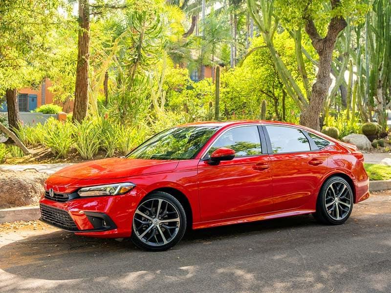 2022 Honda Civic Sedan trim level lineup