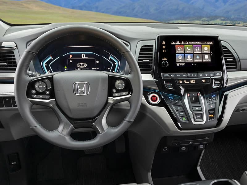 2022 Honda Odyssey interior space comfort and technology